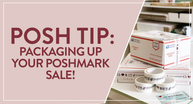 packaging up poshmark sale