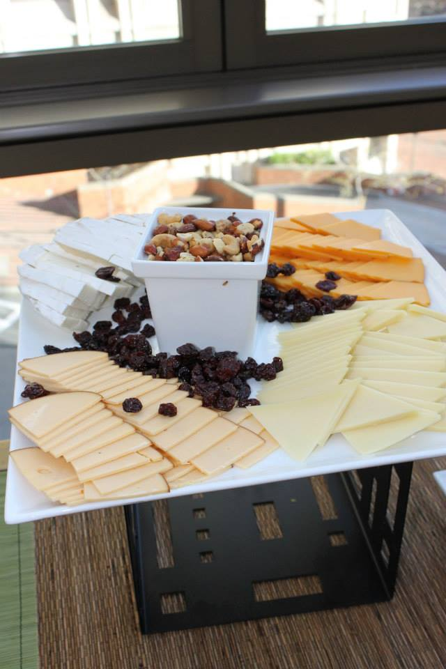 cheese and nut plate