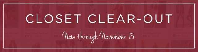 Closet Clear Out_Nov15