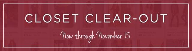Closet Clear Out_Nov15