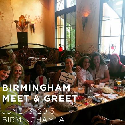Birmingham Alabama Meet & Greet