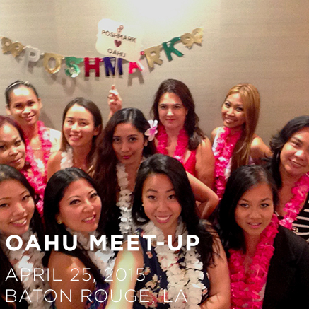 Oahu Poshmark Meet-Up