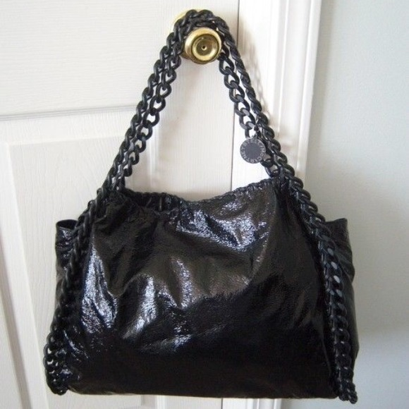 031315_all black everything_chain patent tote