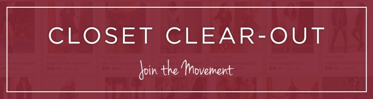 Closet Clear Out Week 2a
