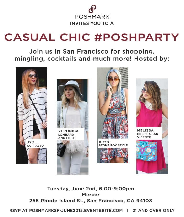 SF Posh Party Invite