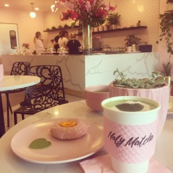 @Haleyeff at Holy Matcha