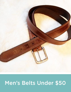 Men's Belts Under 50