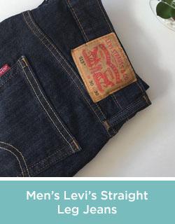 Men's Levi's Straight Leg Jeans