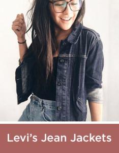 Levis Jean Jackets