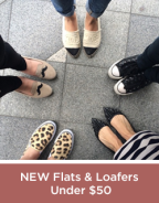 New Flats and Loafers Under 50