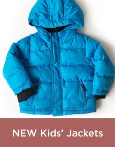 New Kids' Jackets
