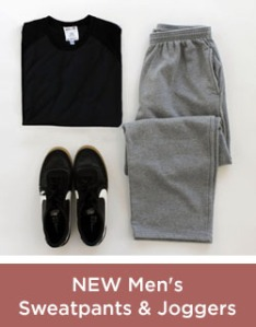New Mens Sweatpants and Joggers