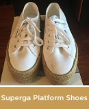 Superga Platform Shoes